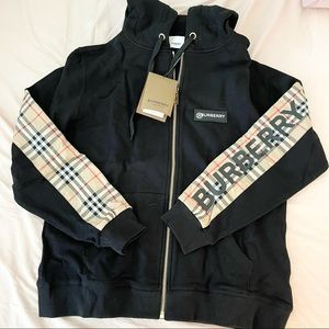 NEW WITH TAG BURBERRY FULL ZIP HOODIE
